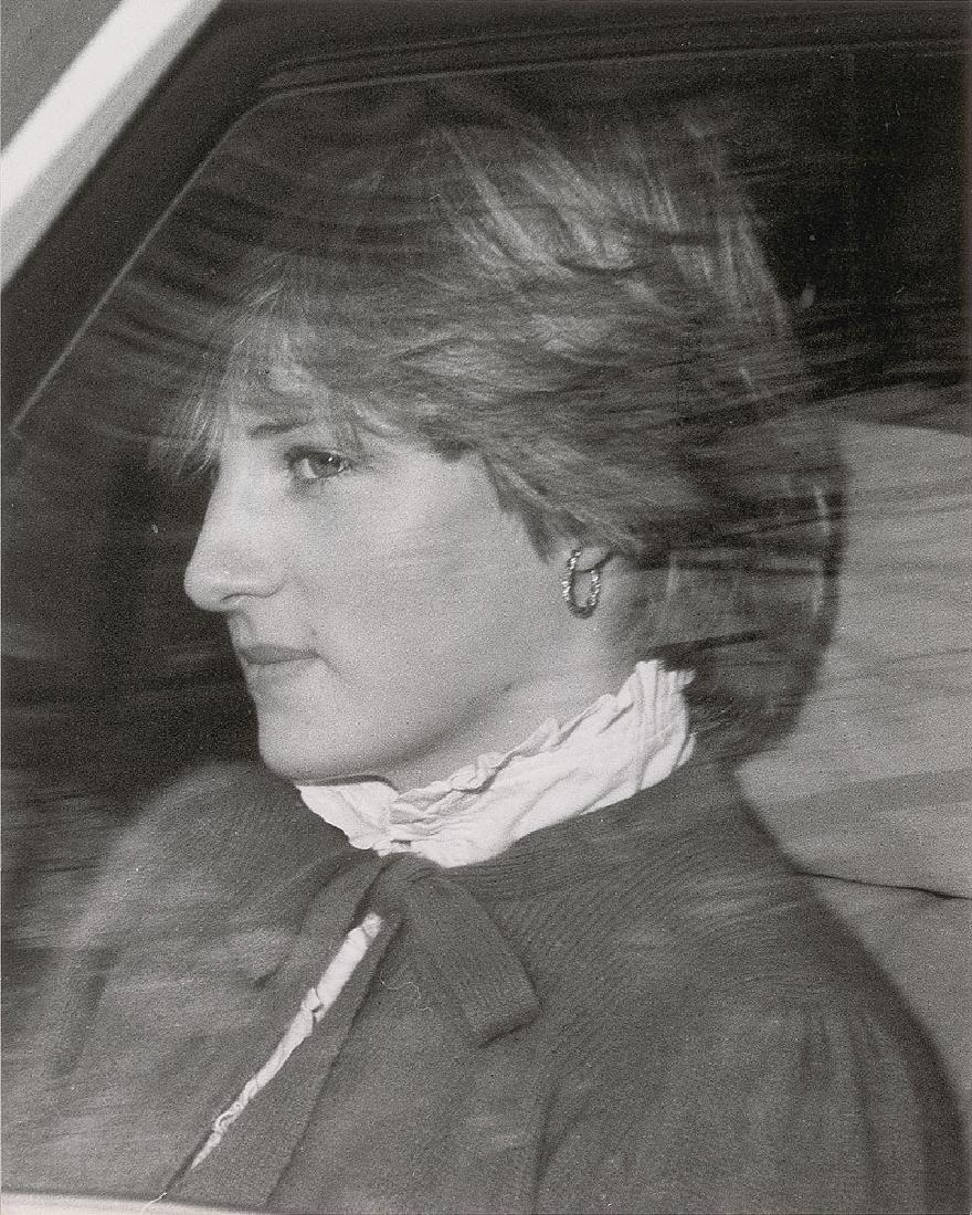 Princess Diana Original Vintage 1981 Photograph Leaving Buckingham Palace