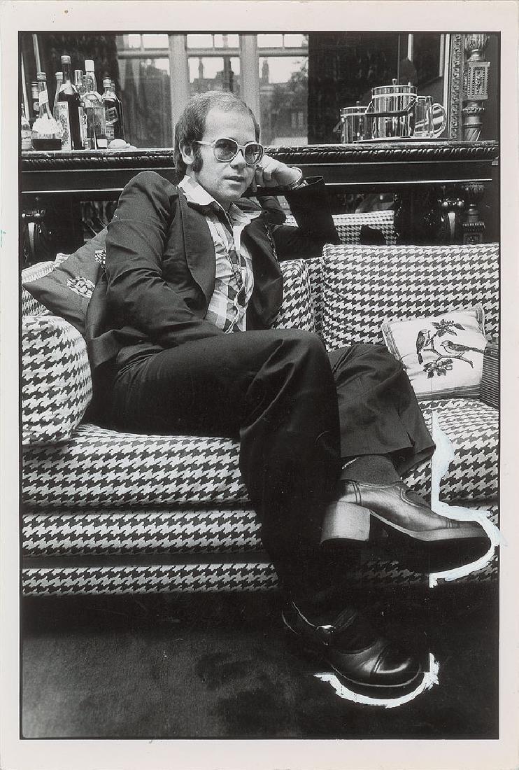 Elton John Oversized Photograph