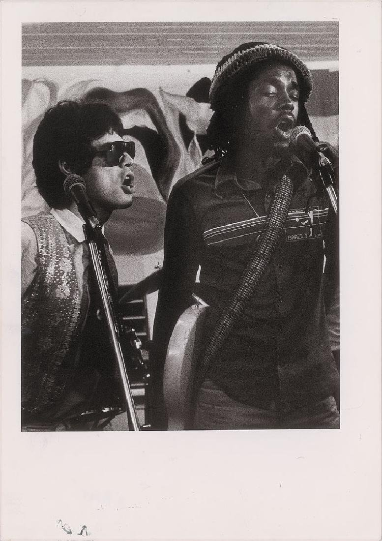 Mick Jagger and Peter Tosh Original Photograph