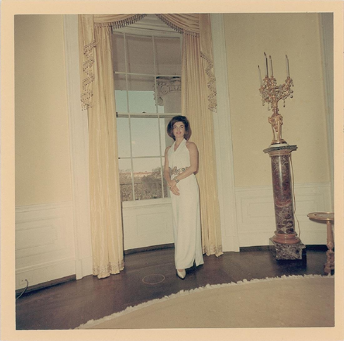 Jacqueline Kennedy Original Vintage Photograph by Cecil Stoughton