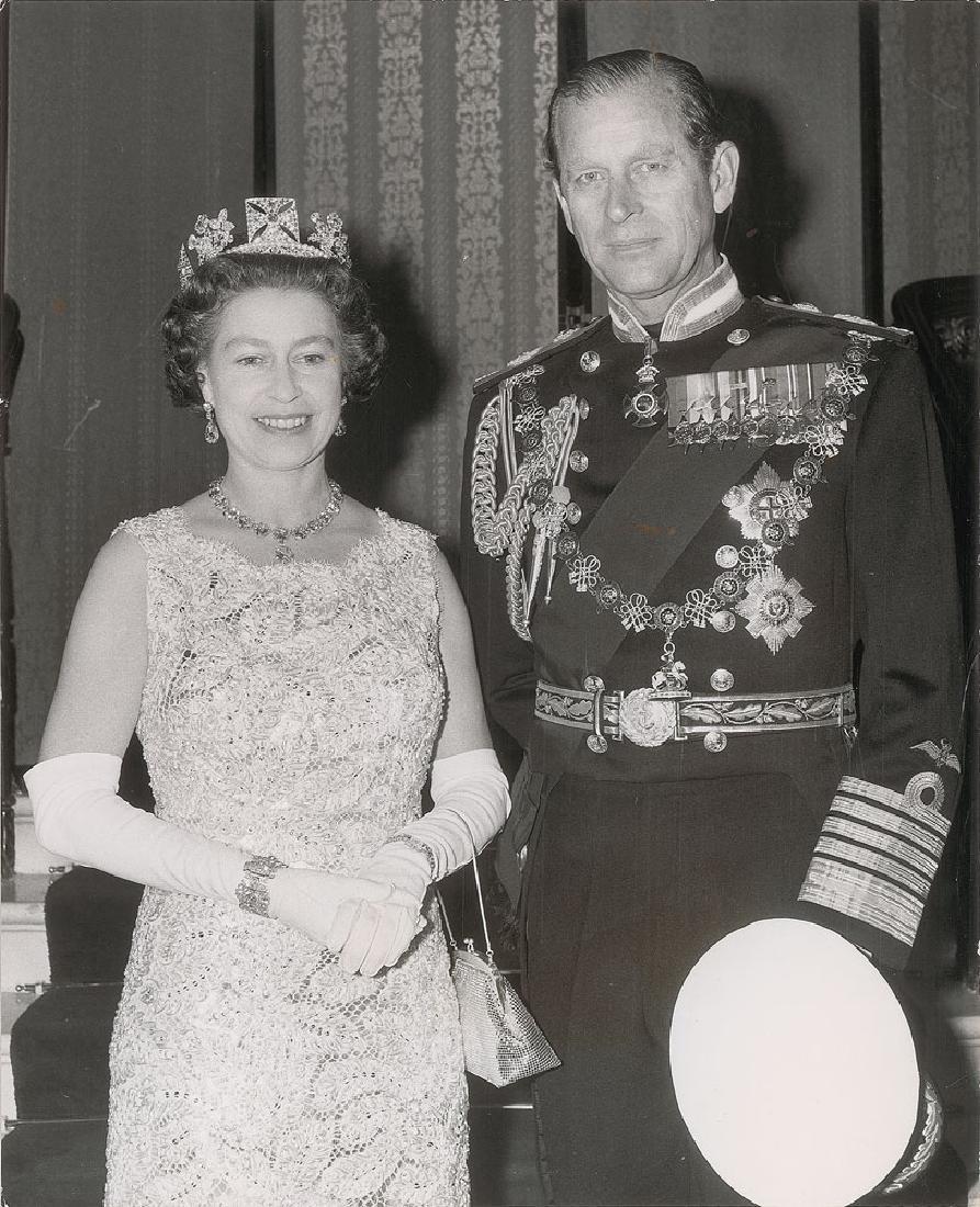 Queen Elizabeth II and Prince Philip Original Photograph