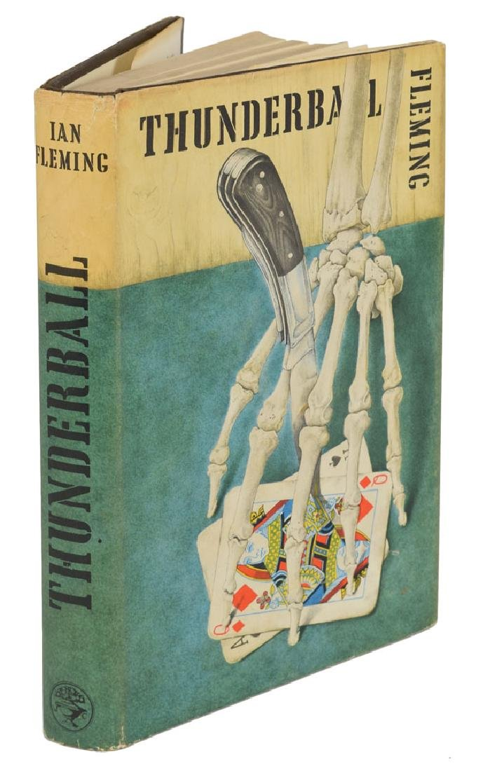 Ian Fleming 'Thunderball' First Edition Book