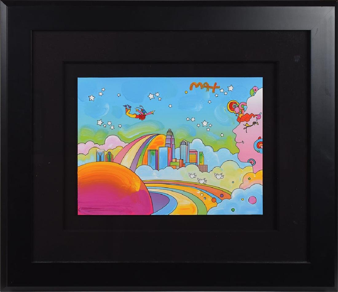 Peter Max Original Artwork