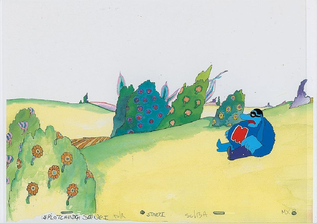 Production cels from Yellow Submarine - 2
