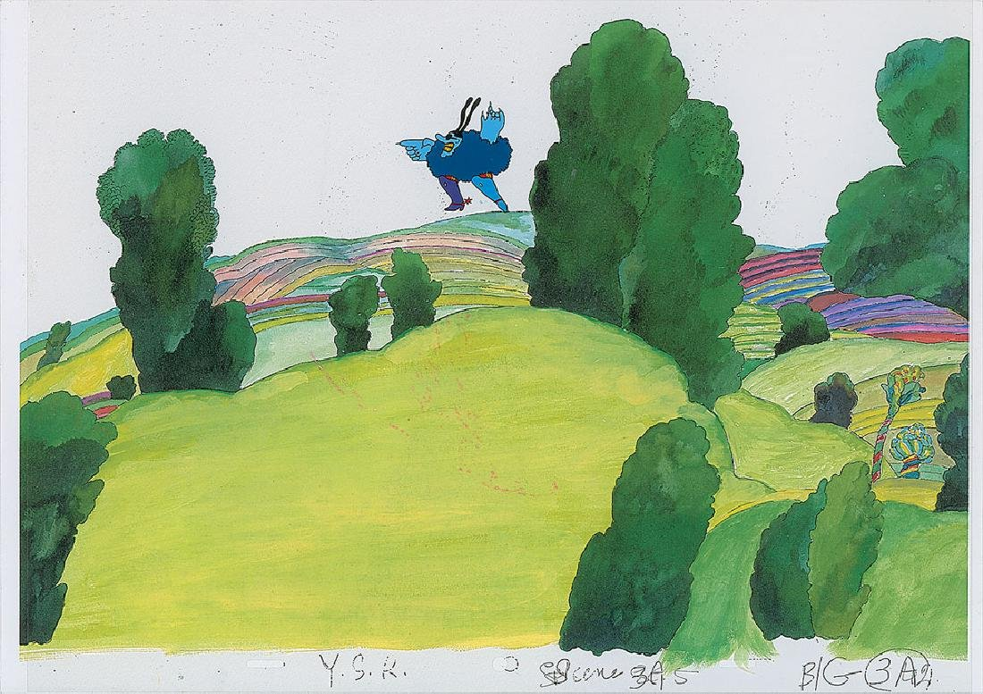 Production cels from Yellow Submarine - 3
