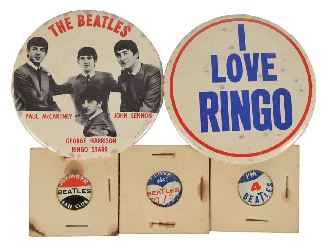 Beatles Group of Fan Club Materials