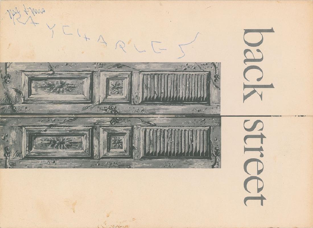 Ray Charles Signature
