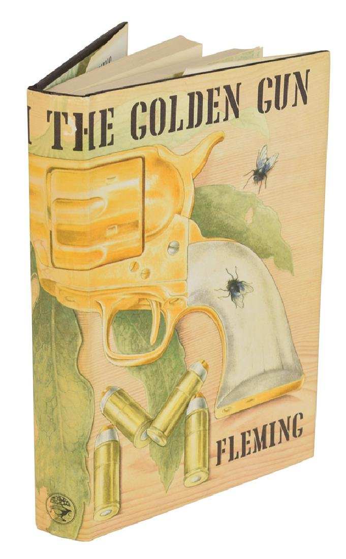 Ian Fleming 'The Man with the Golden Gun' First Edition Book