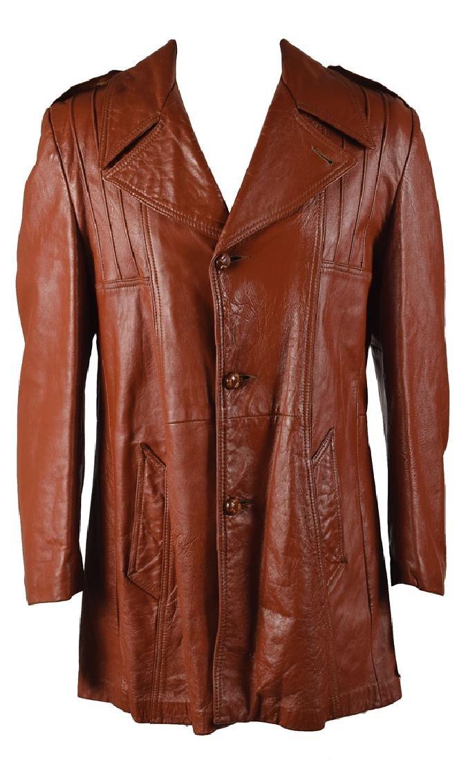 Elvis Presley's Brown Leather Jacket