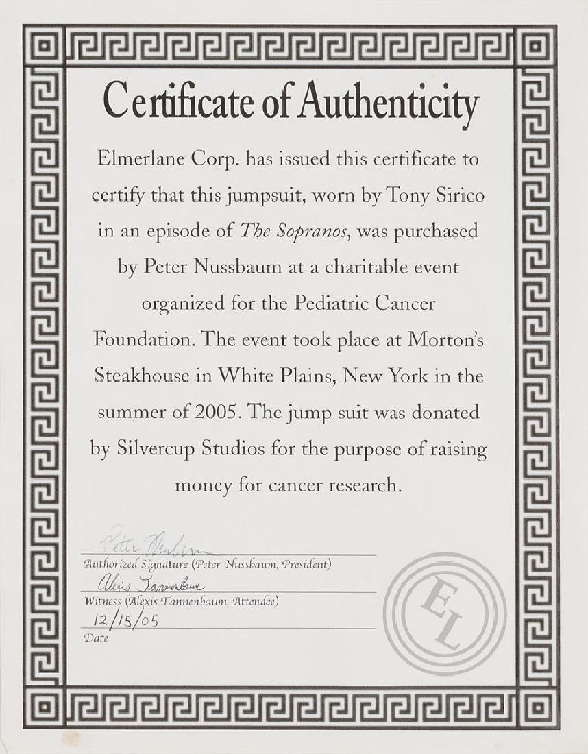 Tony Sirico Screen-Worn Tracksuit from The Sopranos - 4