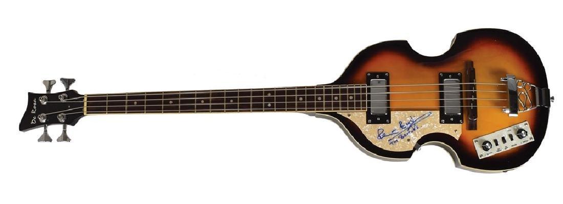 Pete Best Signed Bass Guitar