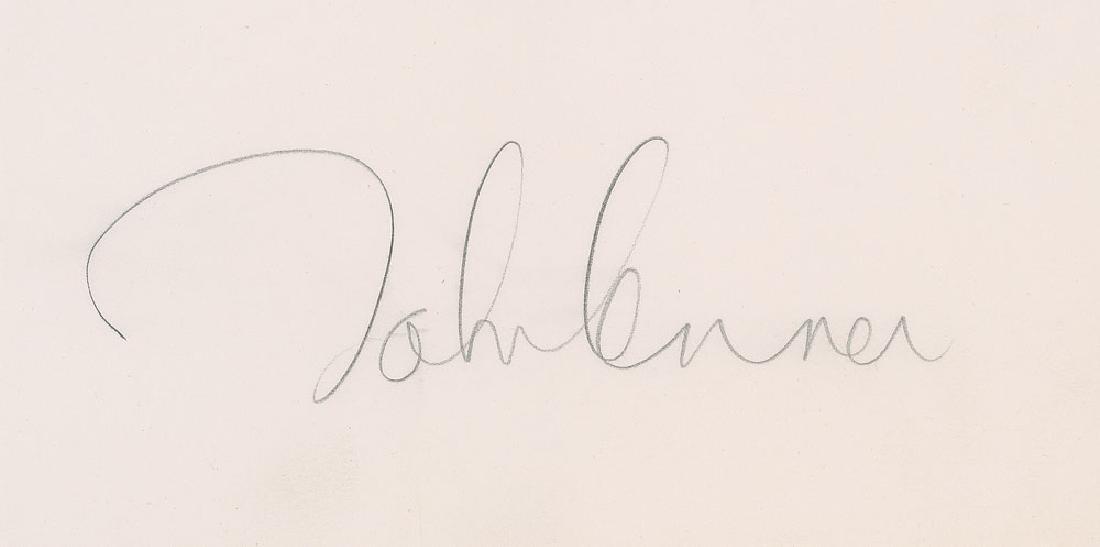 John Lennon Signed 'Bag One' Lithograph
