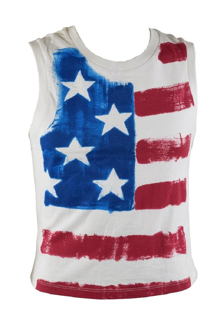Ringo Starr's Personally-Owned American Flag Shirt