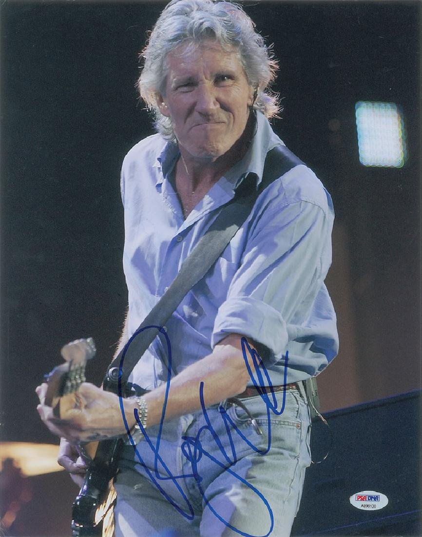 Roger Waters Signed Photograph
