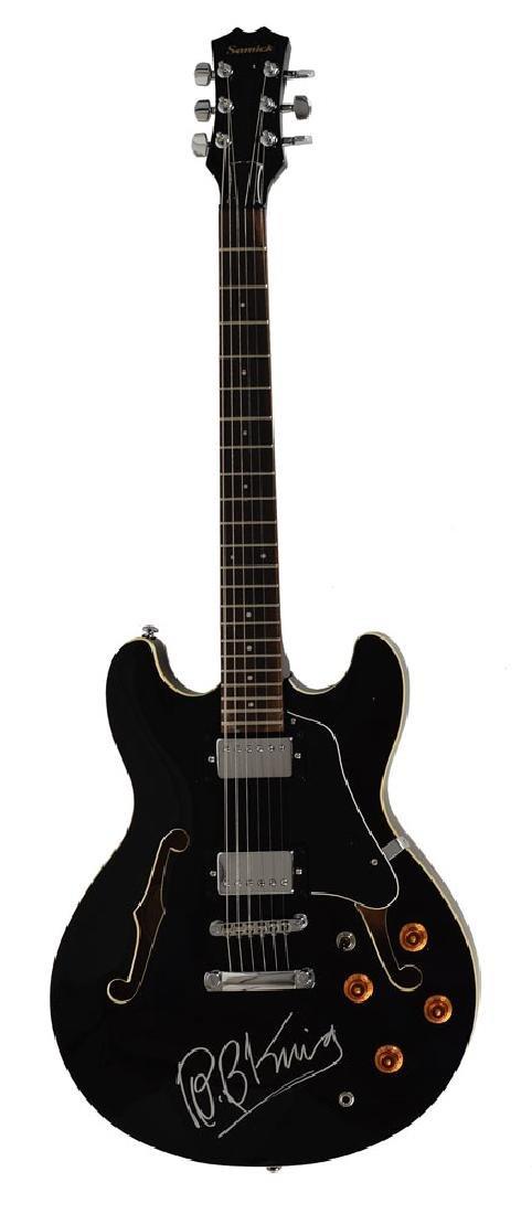 B. B. King Signed Guitar
