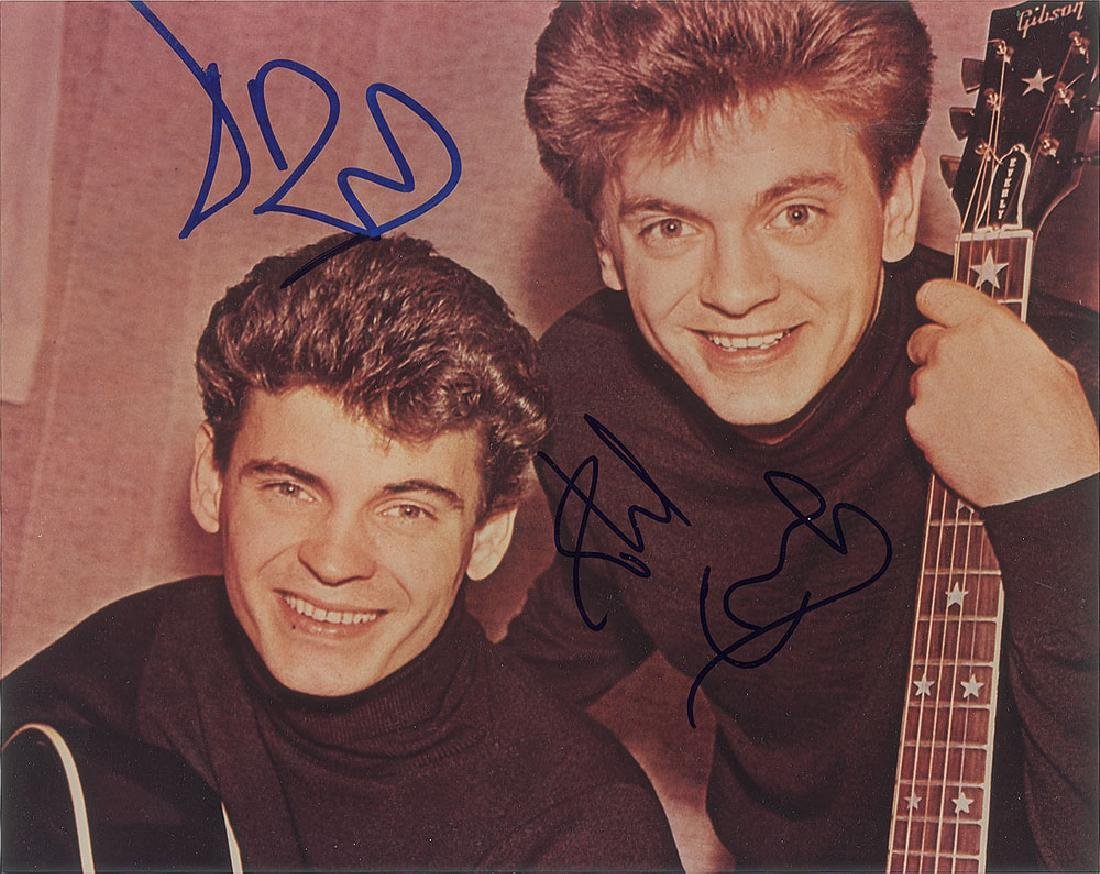 The Everly Brothers Signed Photograph