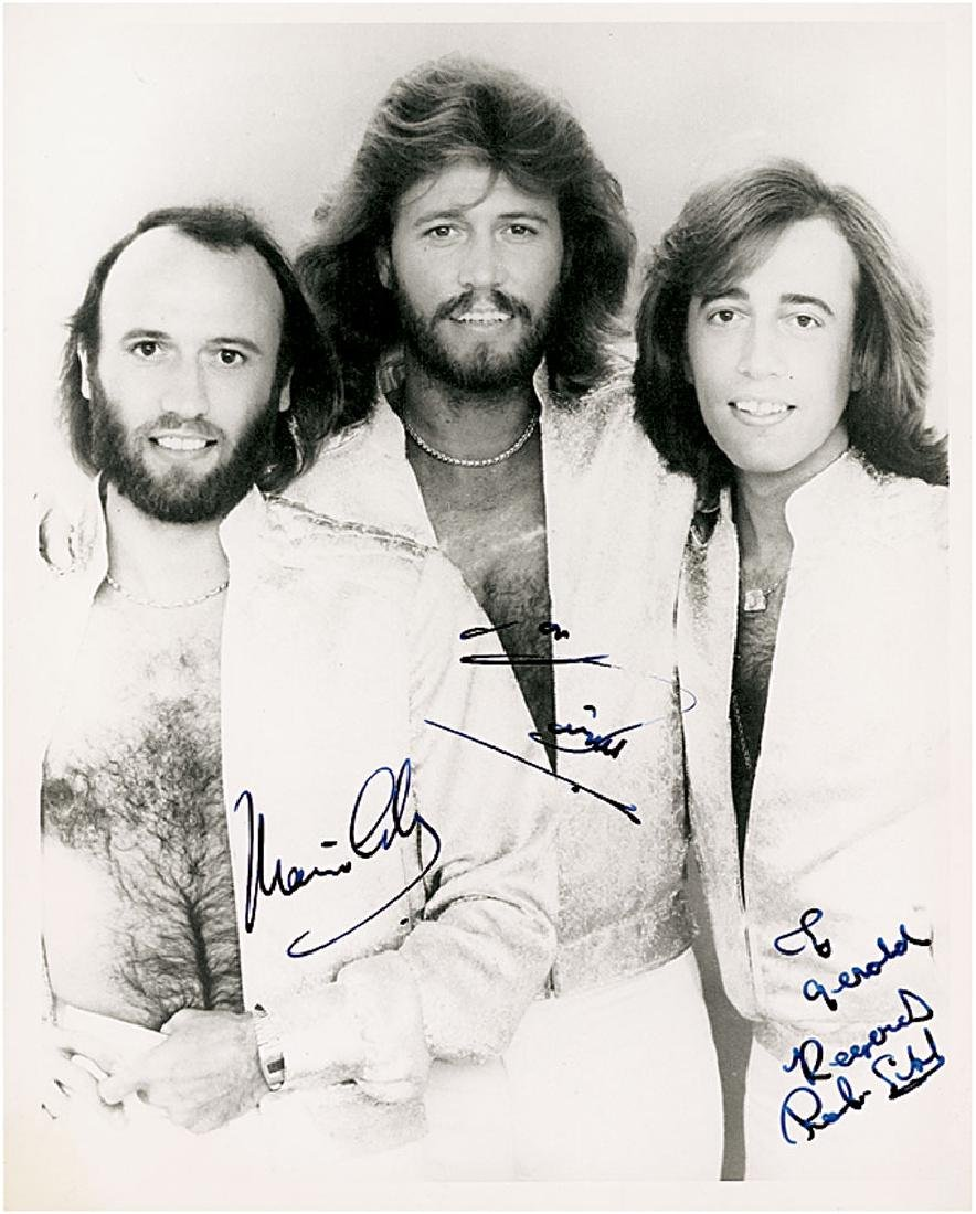 Bee Gees Signed Photograph