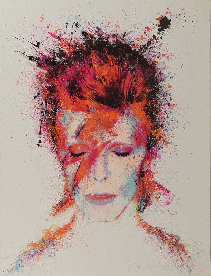 David Bowie Limited Edition Giclee Print
