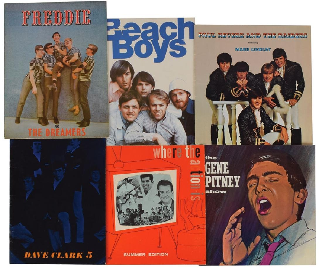 1960s US Tour Books