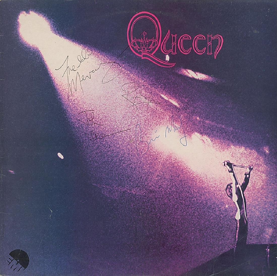 Queen Signed Album