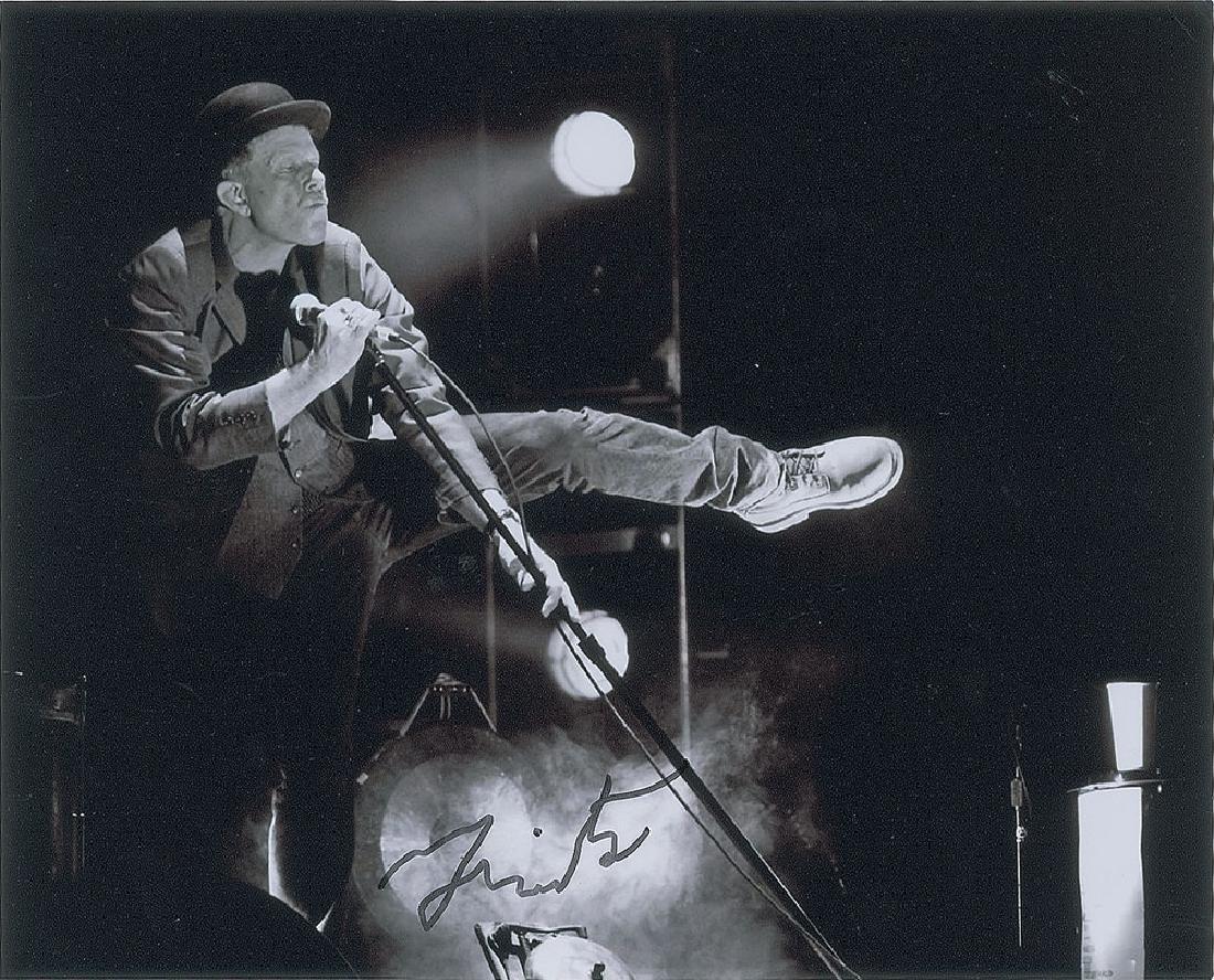 Tom Waits Signed Photograph