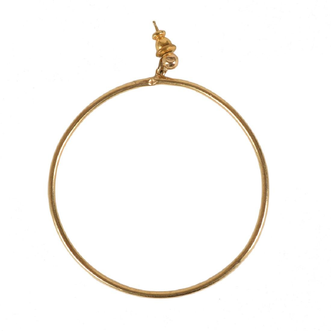 Prince's Personally-Owned and -Worn Hoop Earring
