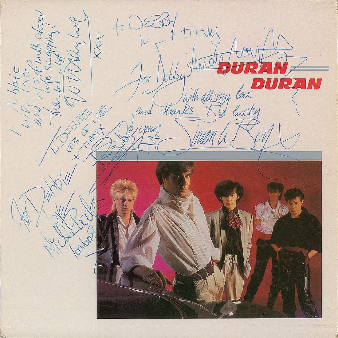 Duran Duran Signed Album