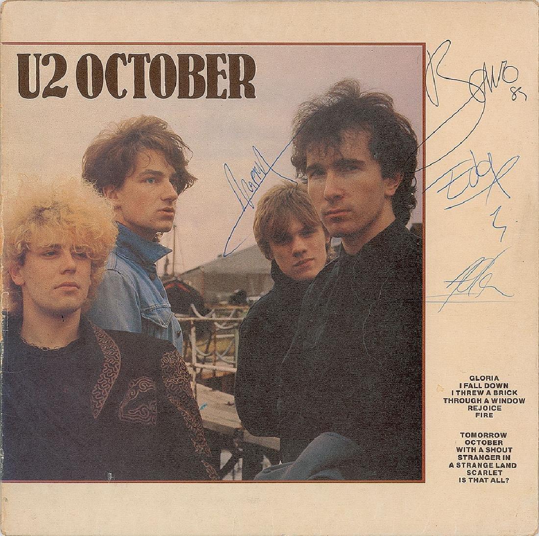 U2 Signed Album