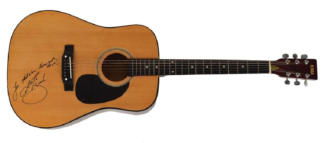 Garth Brooks Signed Guitar