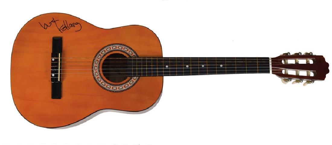 K. D. Lang Signed Guitar