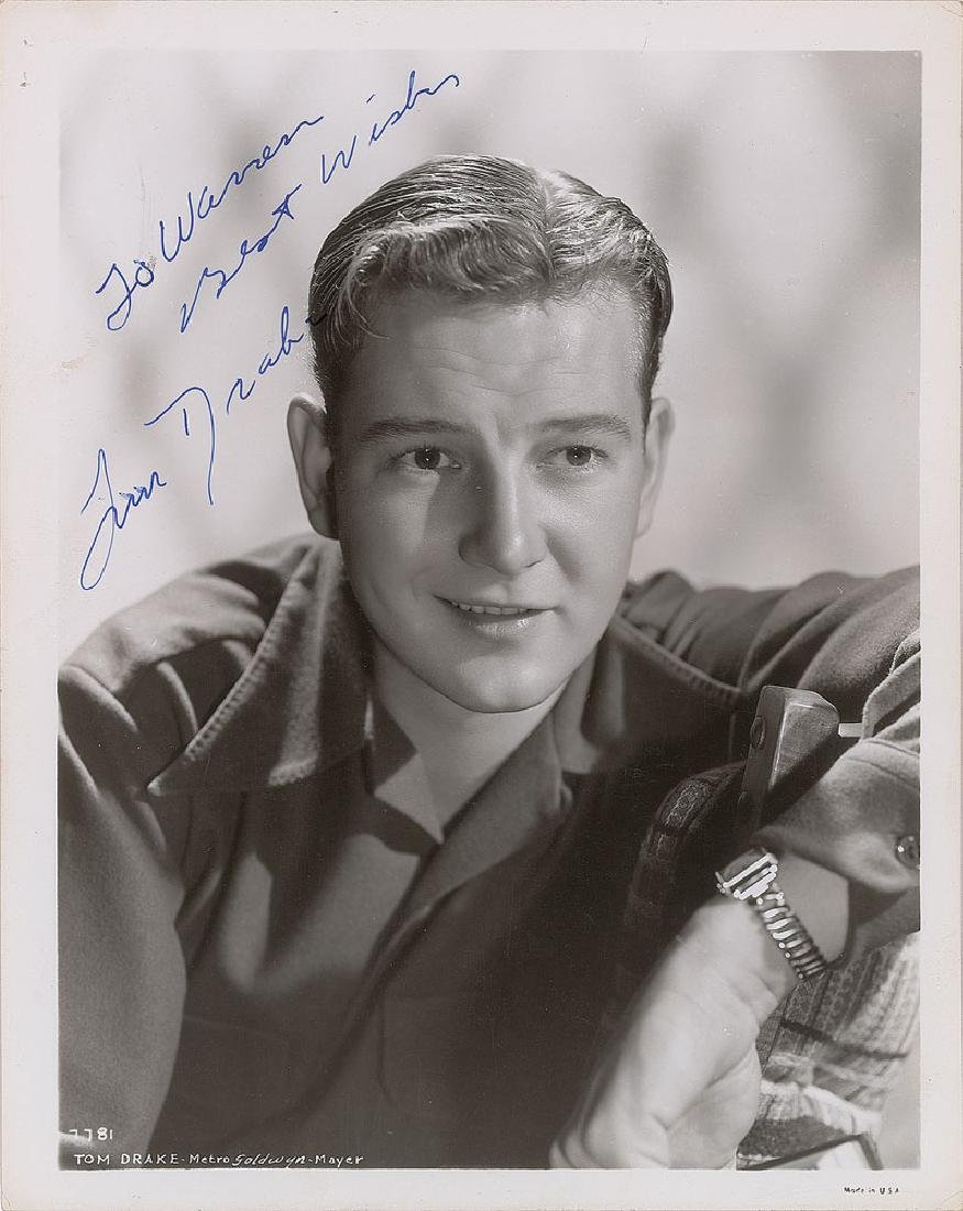 Tom Drake Signed Photograph