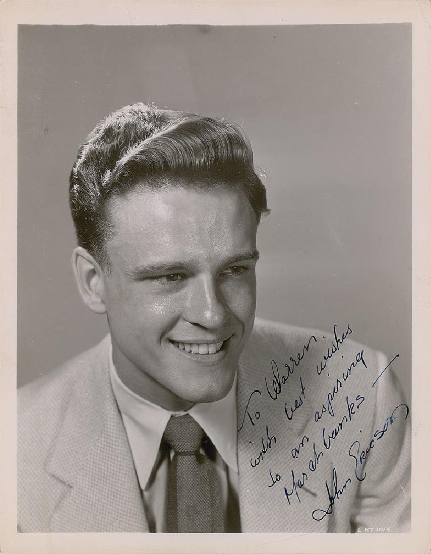 John Ericson Signed Photograph