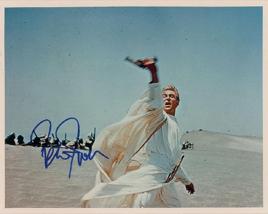 Peter O'Toole Signed Photograph