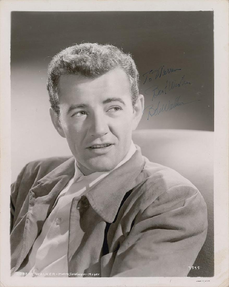 Robert Walker Signed Photograph