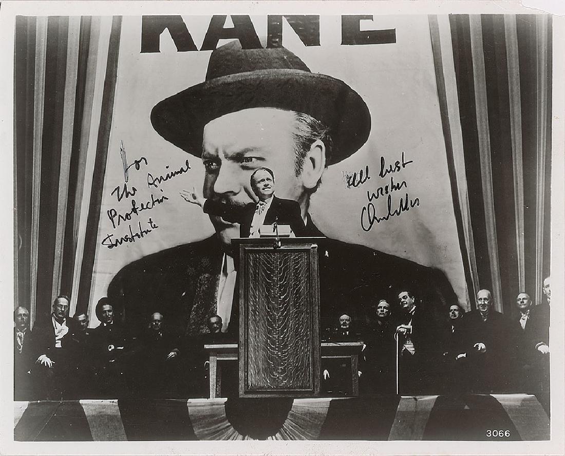 Orson Welles Signed Photograph