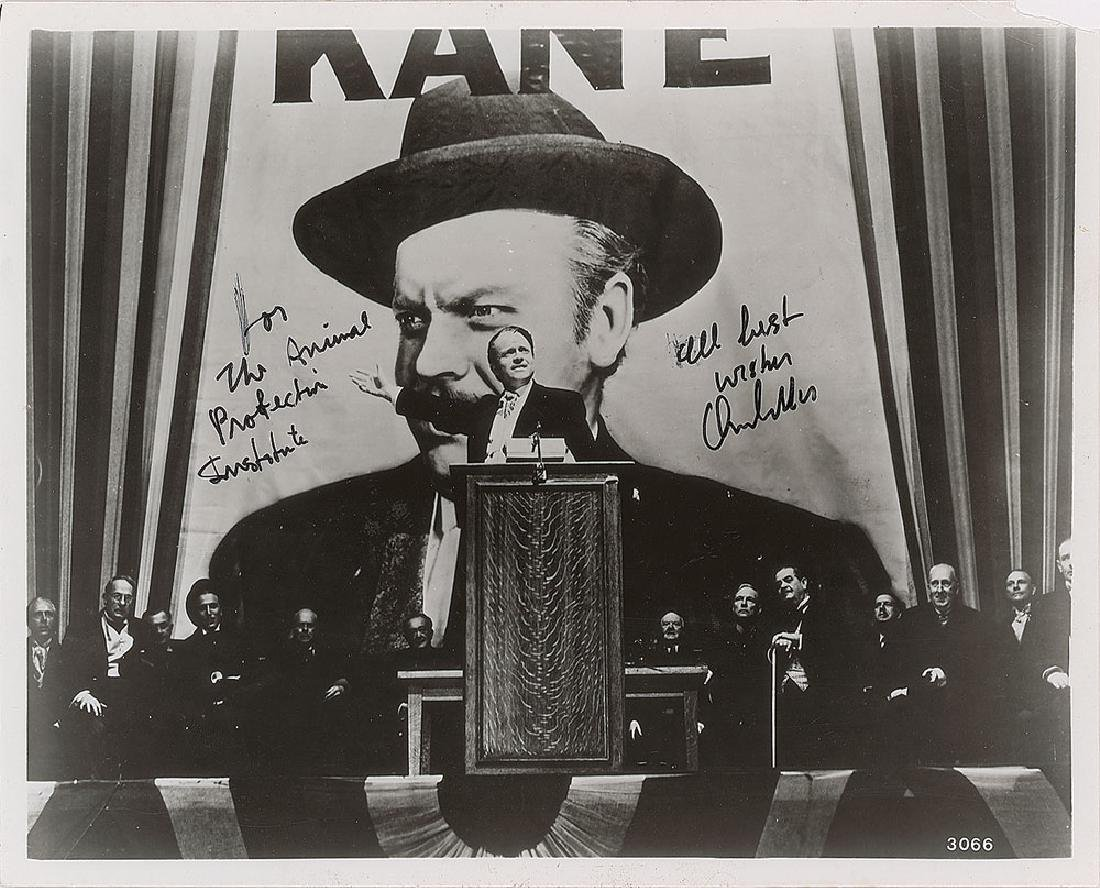 Orson Welles Signed Photograph