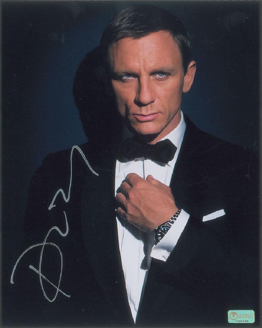 Daniel Craig Signed Photograph