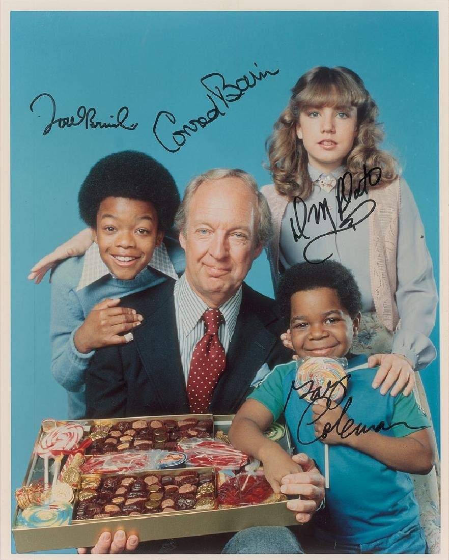 Diff'rent Strokes Signed Photograph