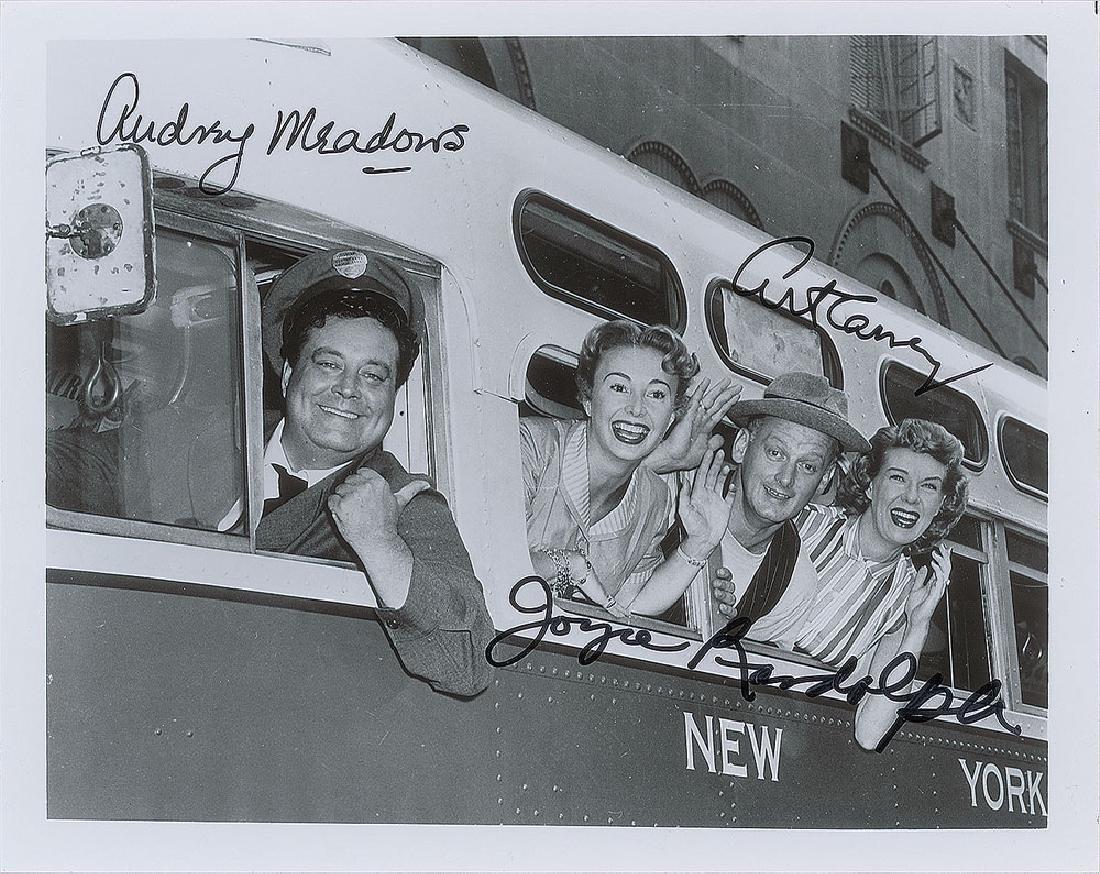 The Honeymooners Signed Photograph