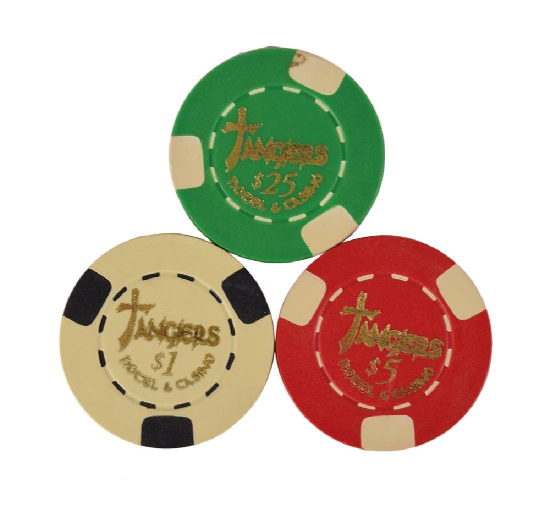 Casino Screen-Used Poker Chips
