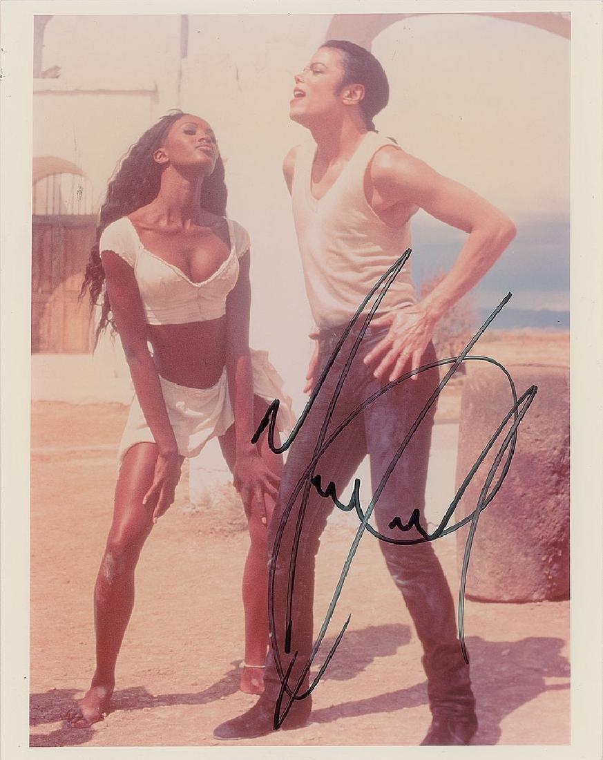 Michael Jackson Signed Photograph