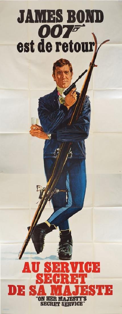 James Bond Poster for On Her Majesty's Secret Service