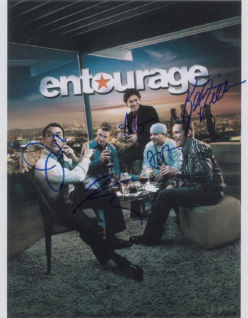 Entourage Signed Photograph