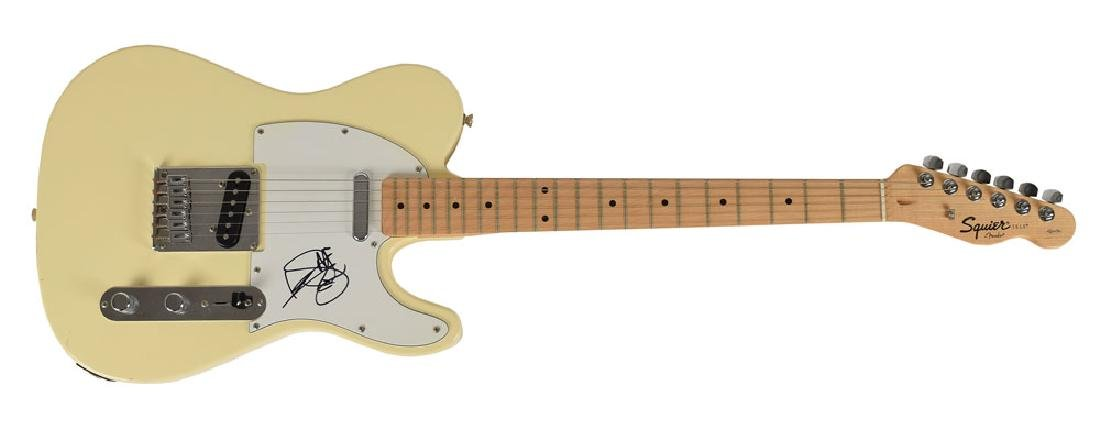Keith Richards Signed Guitar
