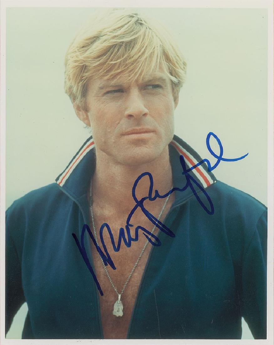 Robert Redford Signed Photograph