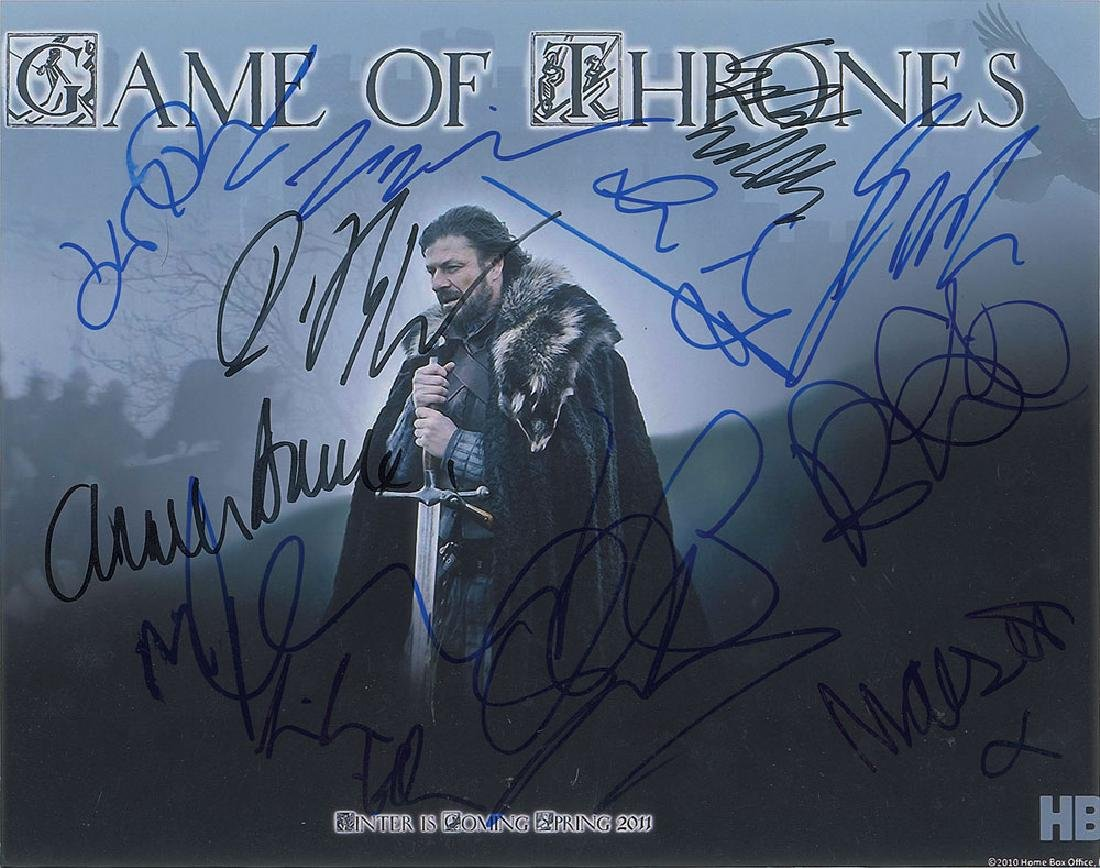 Game of Thrones Signed Photograph