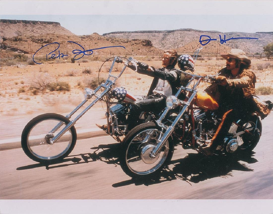 Easy Rider Signed Photograph