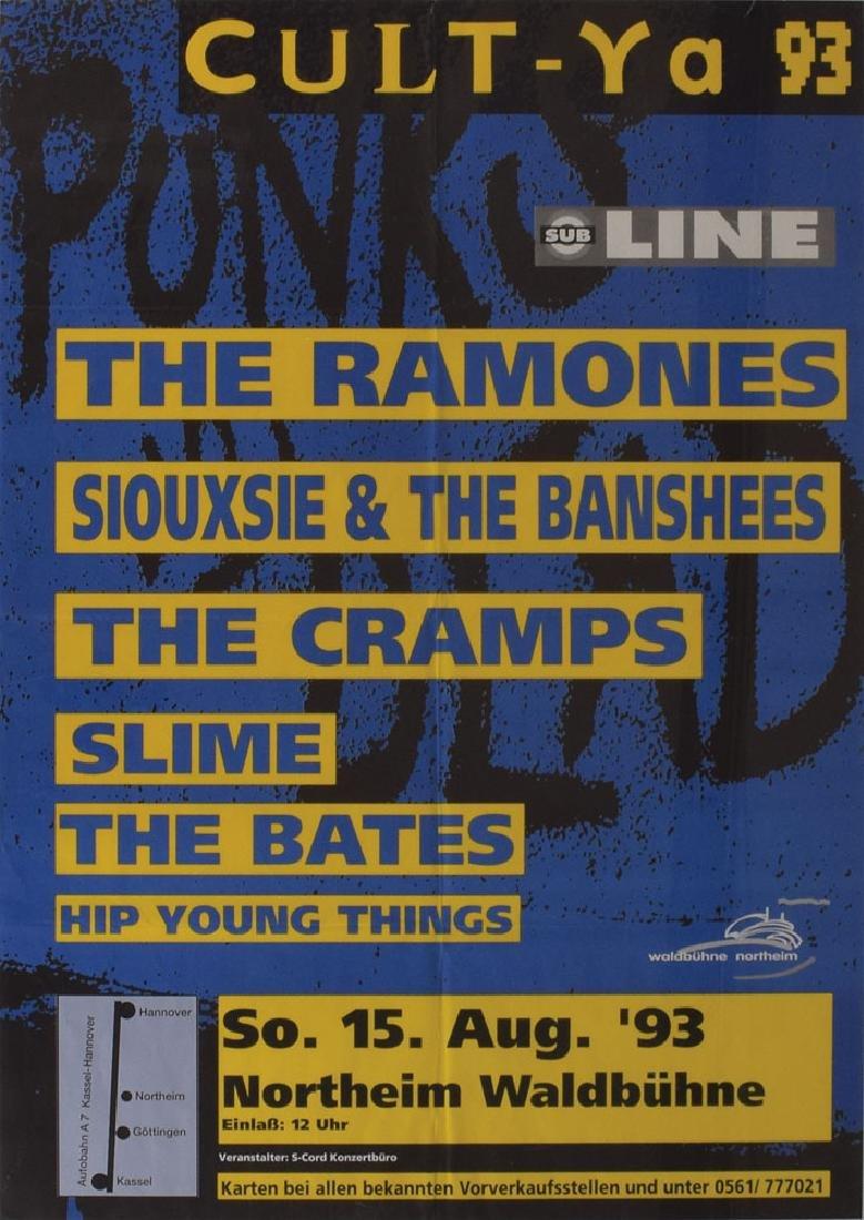Ramones Germany 1993 Concert Poster