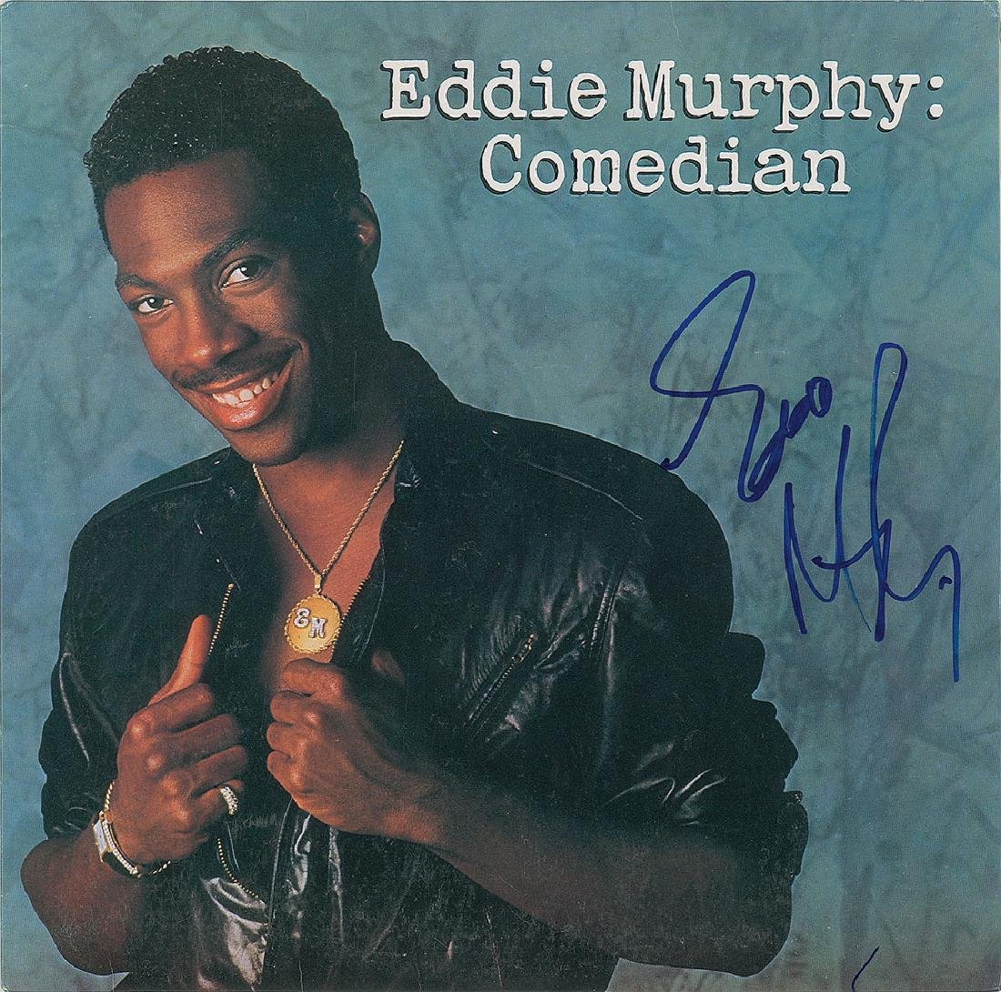 Eddie Murphy Signed Album