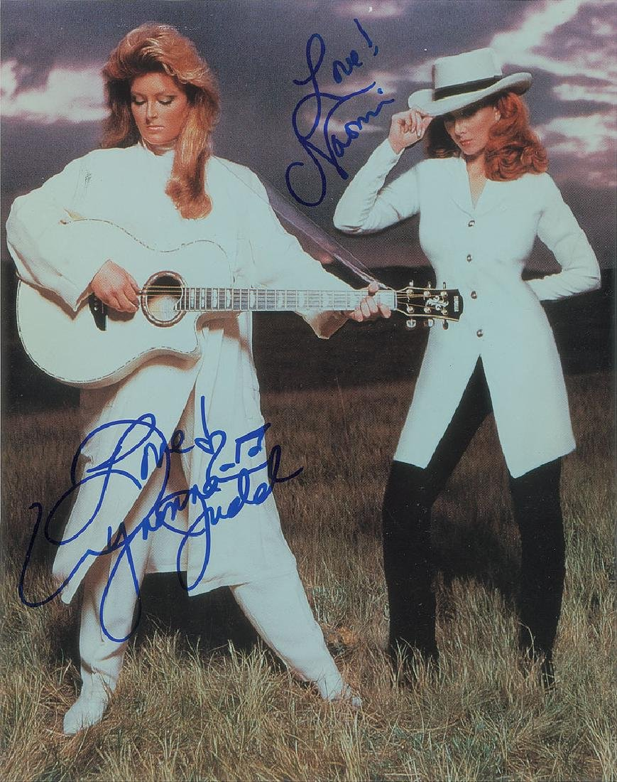 The Judds Signed Photograph